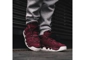 Кроссовки Nike Air More Uptempo Bordeaux - Фото 2