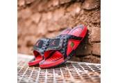 Шлепанцы Air Jordan Hydro 13 Black/Red - Фото 5