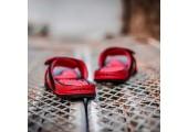 Шлепанцы Air Jordan Hydro 13 Black/Red - Фото 8