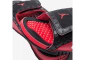 Шлепанцы Air Jordan Hydro 13 Black/Red - Фото 3