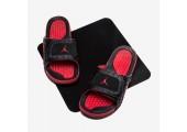 Шлепанцы Air Jordan Hydro 13 Black/Red - Фото 2