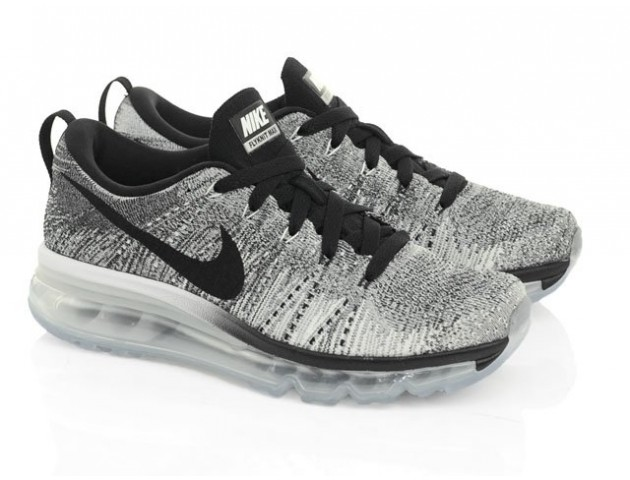 Кроссовки Nike Air Max Flyknit Black/Cool Grey