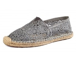 Эспадрильи Toms Classic Lace Grey