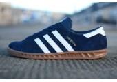 Кроссовки Adidas Originals Hamburg Blue - Фото 2