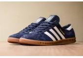 Кроссовки Adidas Originals Hamburg Blue - Фото 3