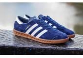 Кроссовки Adidas Originals Hamburg Blue - Фото 4