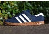 Кроссовки Adidas Originals Hamburg Blue - Фото 1