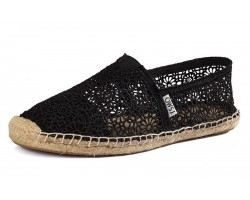 Эспадрильи Toms Classic Lace Black