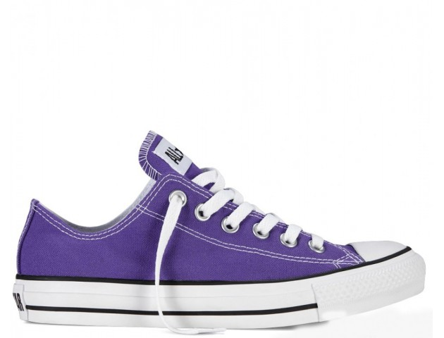 Кеды Converse All Star Chuck Taylor Low Violet