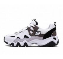 Кроссовки Skechers D'Lites 2 White/Charcoal/Black