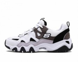 Кроссовки Skechers D'Lites 2 White/Charcoal/Black