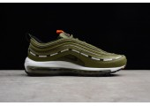 Кроссовки Undefeated x Nike Air Max 97 Olive - Фото 5