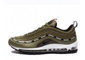 Кроссовки Undefeated x Nike Air Max 97 Olive - Фото 1
