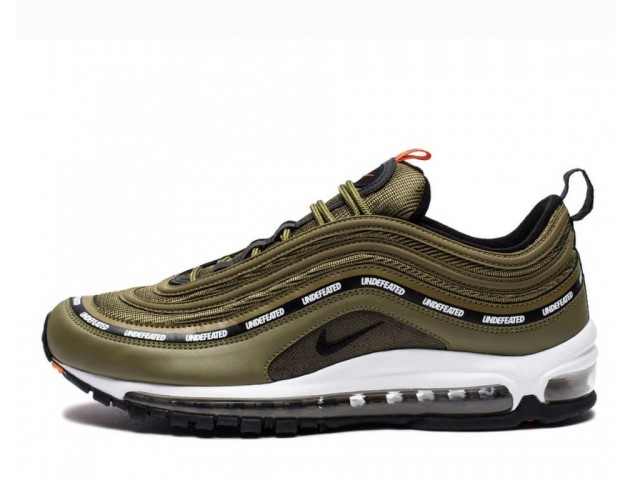 Кроссовки Undefeated x Nike Air Max 97 Olive