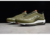 Кроссовки Undefeated x Nike Air Max 97 Olive - Фото 4