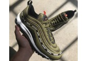 Кроссовки Undefeated x Nike Air Max 97 Olive - Фото 3