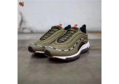 Кроссовки Undefeated x Nike Air Max 97 Olive - Фото 2
