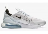 Кроссовки Nike Air Max 270 White/White/Black - Фото 6