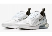 Кроссовки Nike Air Max 270 White/White/Black - Фото 4