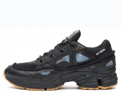 Кроссовки Adidas x Raf Simons Ozweego 2 Bunny Core Black