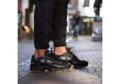 Кроссовки Adidas x Raf Simons Ozweego 2 Bunny Core Black - Фото 3