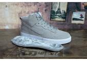 Кроссовки Nike Dunk Hight Grey С МЕХОМ - Фото 5