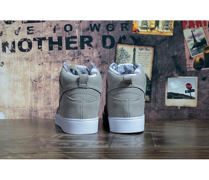 d4e3443c Кроссовки Nike Dunk Hight Grey С МЕХОМ купить в Киеве, выгодная цена ...
