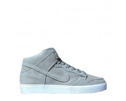 Кроссовки Nike Dunk Hight Grey С МЕХОМ