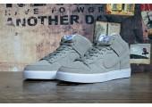 Кроссовки Nike Dunk Hight Grey С МЕХОМ - Фото 3
