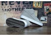 Кроссовки Nike Dunk Hight Grey С МЕХОМ - Фото 4