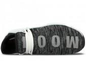 Кроссовки Pharrell Williams x Adidas NMD Human Race Core Black/White - Фото 5