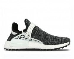 Кроссовки Pharrell Williams x Adidas NMD Human Race Core Black/White