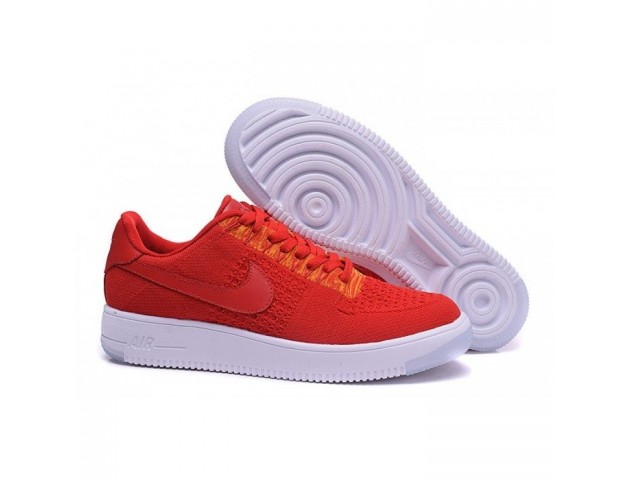 Кроссовки Nike Air Force 1 Ultra Flyknit Low University Red