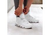 Кроссовки Nike Air More Uptempo Triple White - Фото 3