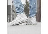 Кроссовки Nike Air More Uptempo Triple White - Фото 5