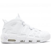 Кроссовки Nike Air More Uptempo Triple White