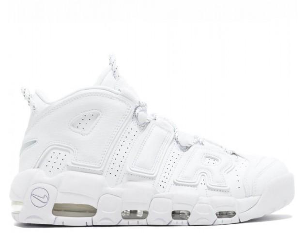 Кроссовки Nike Air More Uptempo Triple White