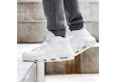Кроссовки Nike Air More Uptempo Triple White - Фото 4