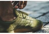Кроссовки Adidas Gazelle Olive Green - Фото 4