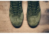 Кроссовки Adidas Gazelle Olive Green - Фото 5