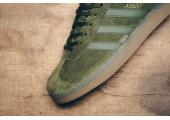 Кроссовки Adidas Gazelle Olive Green - Фото 6