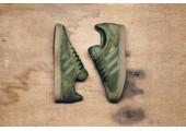 Кроссовки Adidas Gazelle Olive Green - Фото 8