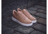 Кроссовки NikeLab Air Force 1 Low Vachetta Tan/White - Фото 4