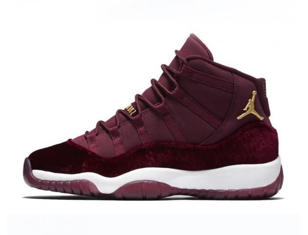 Кроссовки Nike Air Jordan 11 Retro Heiress Bordo