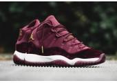 Кроссовки Nike Air Jordan 11 Retro Heiress Bordo - Фото 6