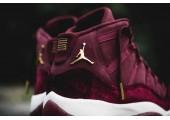 Кроссовки Nike Air Jordan 11 Retro Heiress Bordo - Фото 5