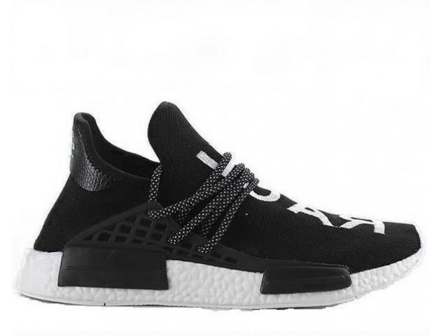 Кроссовки Pharrell Williams x Adidas NMD Human Race Black