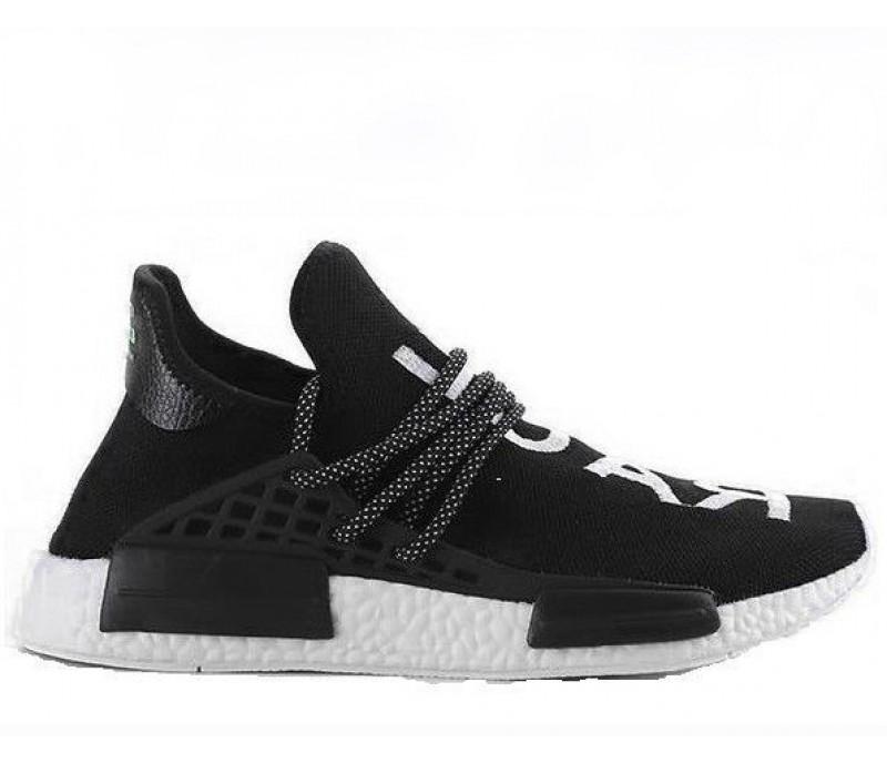 4c5897245c1efb Кроссовки Pharrell Williams x Adidas NMD Human Race Black купить в ...