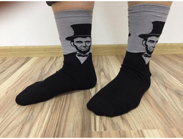 Носки Lincoln Black and Grey