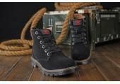 Ботинки Adidas Ransom Original Boot Black С МЕХОМ - Фото 3